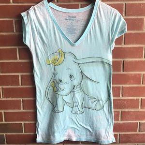 Disneyland Blue Dumbo Women's Top
